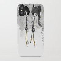 gemini iPhone & iPod Cases featuring Gemini by Dnzsea