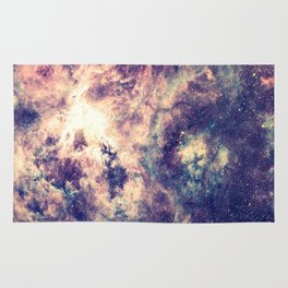 Tarantula Nebula Deep Pastels Rug
