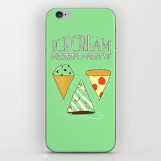 Ice Cream Pizza Party iPhone & iPod Skin