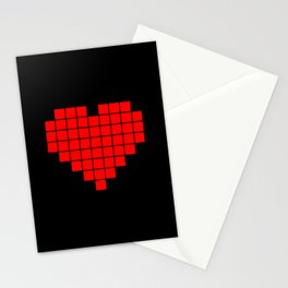 LCD Heart Stationery Cards