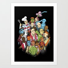 They Were All Human Beings Art Print