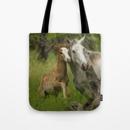 Born Wild Tote Bag