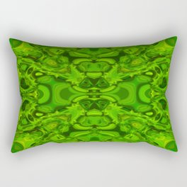 Greeny pattern Rectangular Pillow