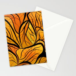 Monarch Abstract Stationery Cards