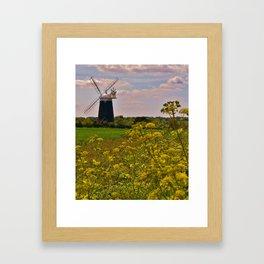 Tower Mill - Burnham Overy Staithe Framed Art Print