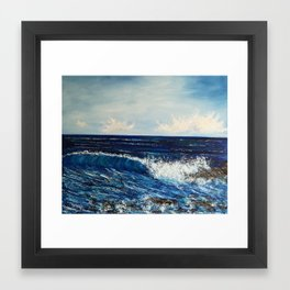 Moment of bliss Framed Art Print