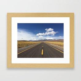 Road to Heavan Framed Art Print