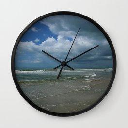 Summer At The Seaside Wall Clock
