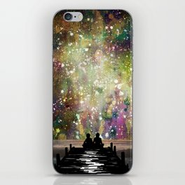 The Universe Was Ours iPhone Skin