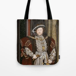 Portrait of Henry VIII - After Hans Holbien the Younger Tote Bag
