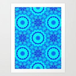 Berry Blue Art Print