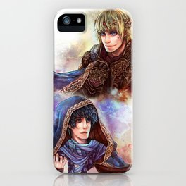 BBC Merlin: Mage Merlin and King Arthur iPhone Case