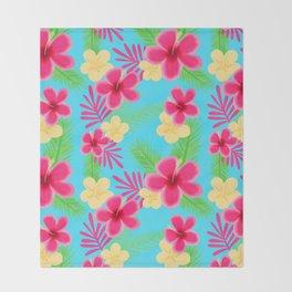 05 Hawaiian Shirt Throw Blanket