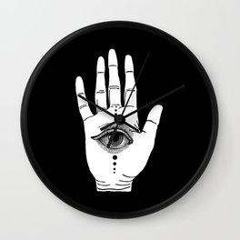 Hamsa Horus Wall Clock