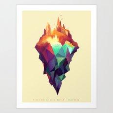Magicae Lumos Art Print