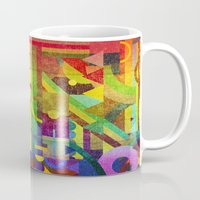 kandinsky Mugs featuring Future Patterns. by Nick Nelson