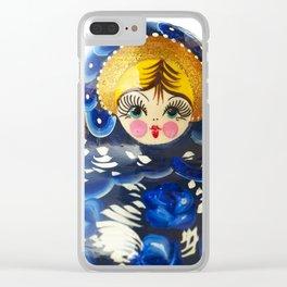 Babushka nesting dolls Clear iPhone Case