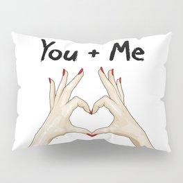 T + Y Pillow Sham