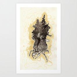 Rebirth (Earth) Art Print