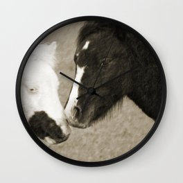 When We Touch Wall Clock