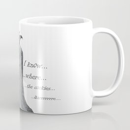 Follow Me, says the Vampire Coffee Mug