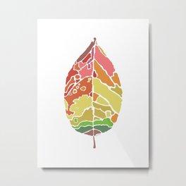 The New Leaf Metal Print
