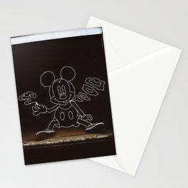 Micky Mouse Smoking Stationery Cards