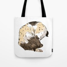 Sleeping Dog #002 Tote Bag