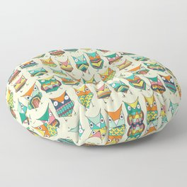 Give a hoot Floor Pillow