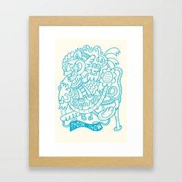 Freak Show Framed Art Print