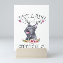 Scottie Dog Mini Art Print