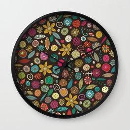 daffodil pop Wall Clock