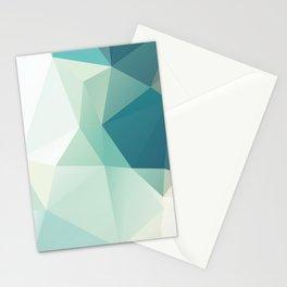 Lagoon – modern polygram illustration Stationery Cards