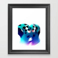 Kiss Them For Me Framed Art Print