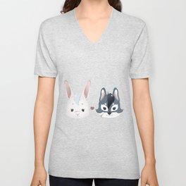 Bunny ^ Wolf Unisex V-Neck