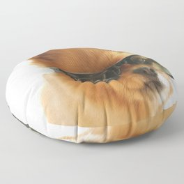 Stylish dog Pepe Floor Pillow