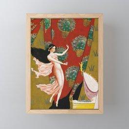 Fairy Godmother By Rudolf Koivu Framed Mini Art Print