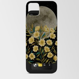 Greeting the Moon - Evening Primrose iPhone Card Case