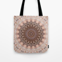 Mandala romantic pink Tote Bag