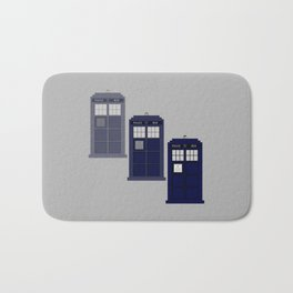 The Materializing TARDIS Bath Mat
