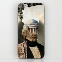 warrior iPhone & iPod Skins featuring Warrior by DIVIDUS DESIGN STUDIO