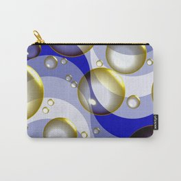 Ocean surfing (bubbles and waves) Carry-All Pouch