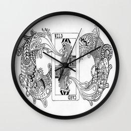 "NYTI ""WILDCARD"" Wall Clock"