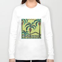 palm trees Long Sleeve T-shirts featuring Palm Trees by Abundance
