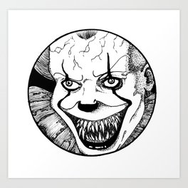 Pennywise the Dancing Clown Art Print