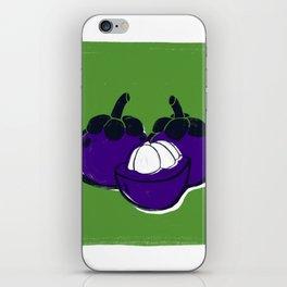 Mangosteen iPhone Skin