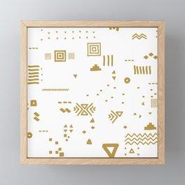 Boho Minimal Mood I. Framed Mini Art Print