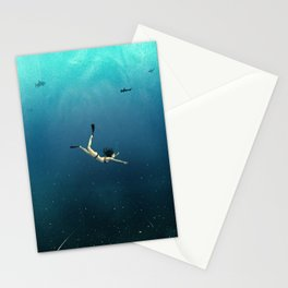 Underwater Universe Stationery Cards