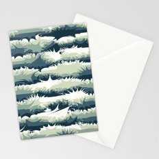 Explosions in the water Stationery Cards