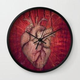 unchain my heart Wall Clock